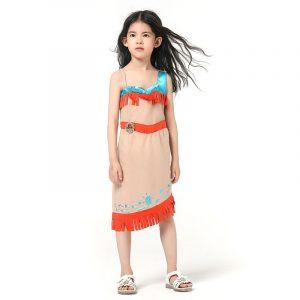 déguisement indienne fille Matoaka