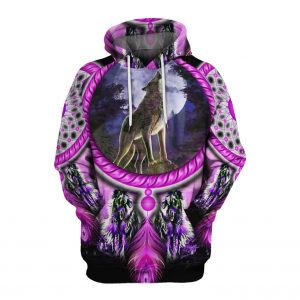 Sweat Indien Loup