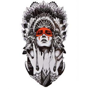 Tatouage Amérindien Femme Amérindienne