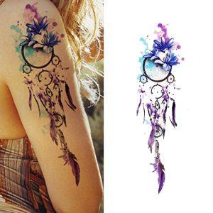 Tatouage Attrape Rêve - La Fleur Indienne