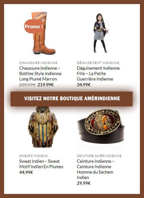 Boutique Amérindienne France