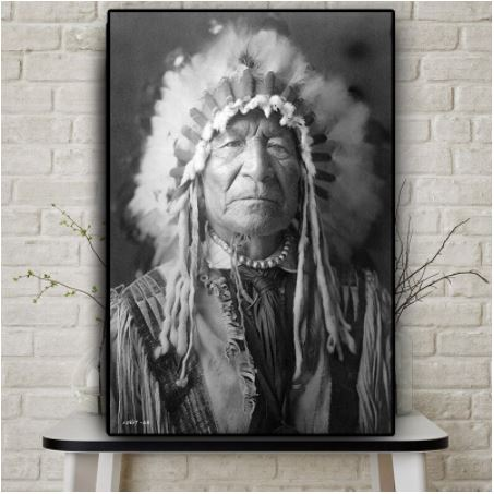 Tableau Indien Sitting-Bull