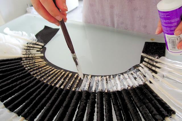 comment realiser une coiffe indienne ?