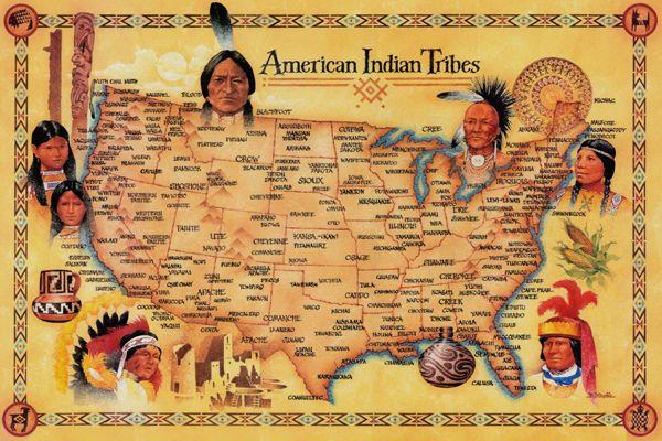 tribu indienne connu