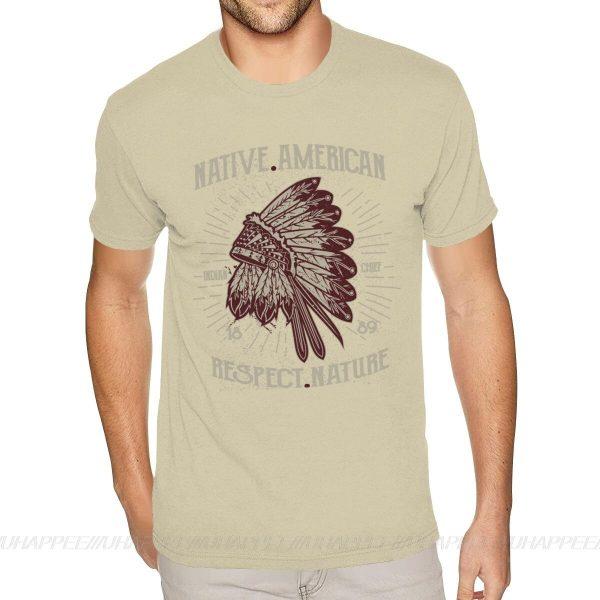 T-Shirt Indien Respect Nature beige