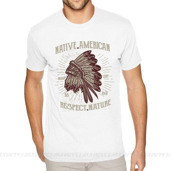 T-Shirt Indien Respect Nature blanc