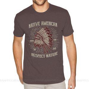 T-Shirt Indien Respect Nature gris
