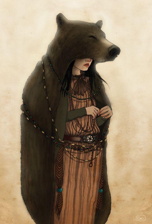 L'Ours dans la Mythologie Amérindienne