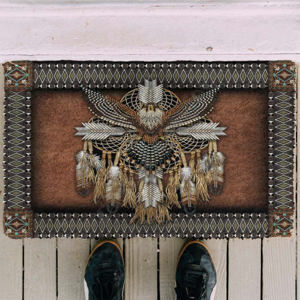 Tapis Amérindien Aigle Indien