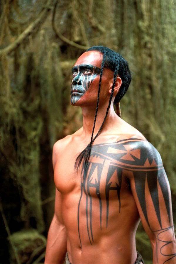 tatouage iroquois