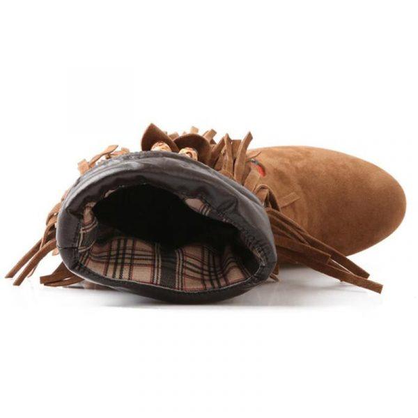 Chaussure Indienne Bottine Ethnique style