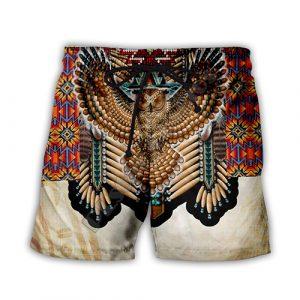 Short Indien L'Aigle Amérindien
