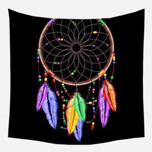 Tenture Indienne Attrape Rêve Coloré