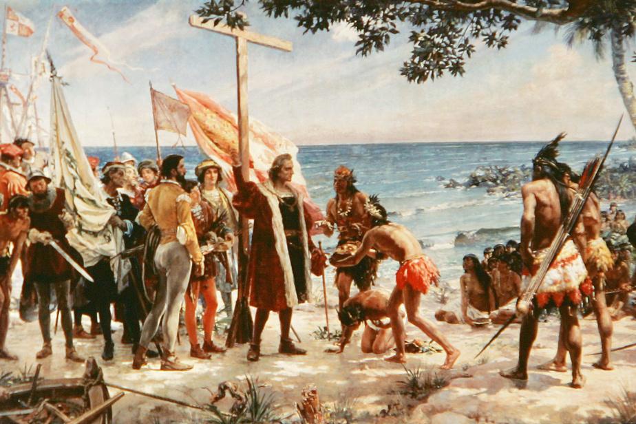 premier contact amérindien