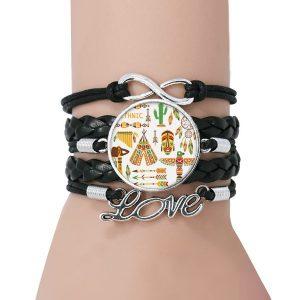 Bracelet Amérindien Totem Love