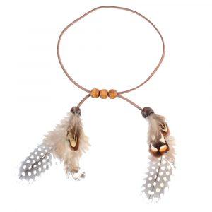 Bracelet Amérindien Brassard en Plume