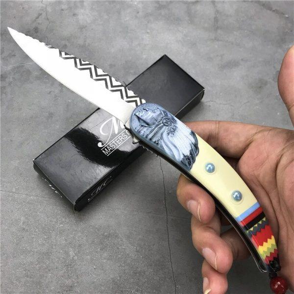 Couteau Amérindien pliant